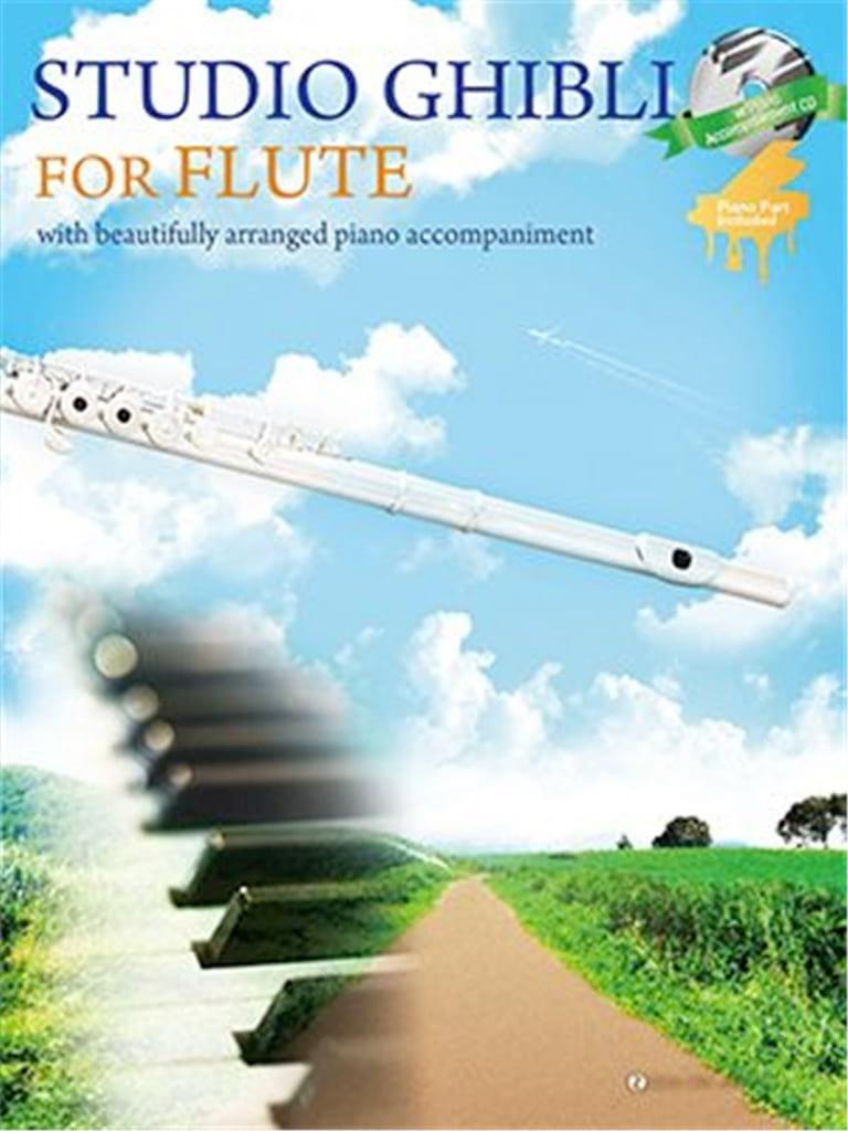 Joe Hisaishi - Studio Ghibli for Flute - Partition - di-arezzo.co.uk