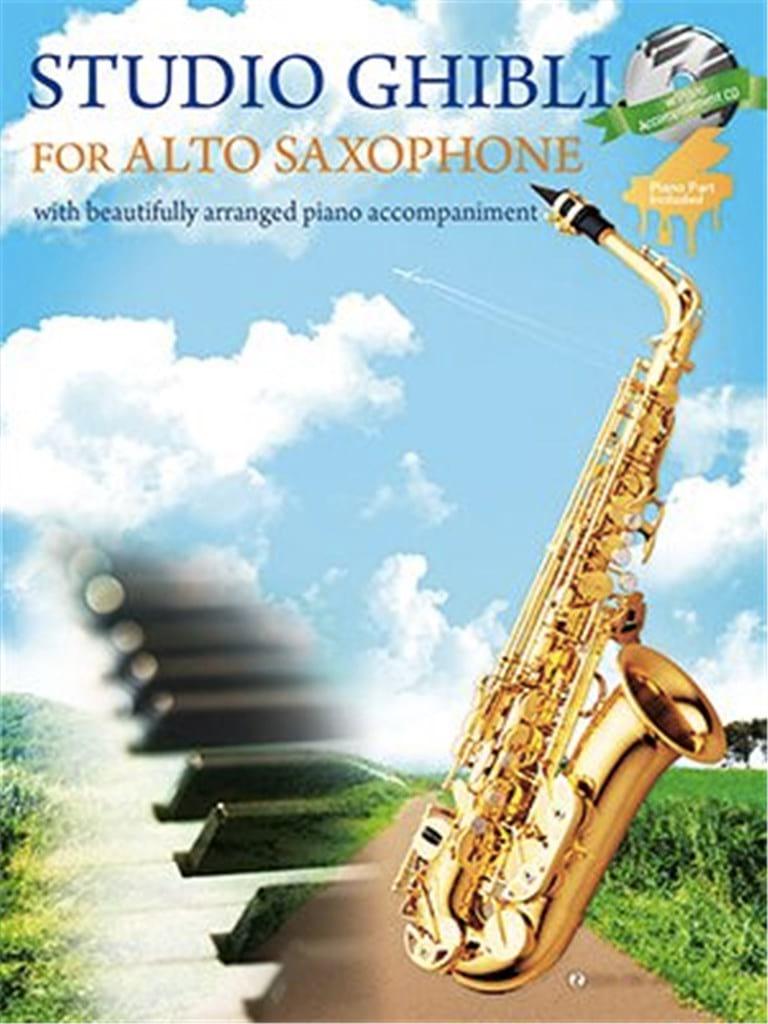Joe Hisaishi - Studio Ghibli for Alto Sax - Partition - di-arezzo.com