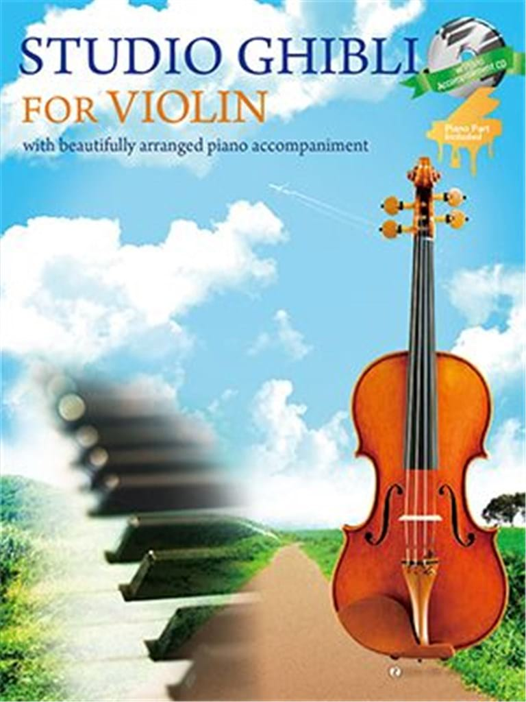 Joe Hisaishi - Studio Ghibli - Violon - Partition - di-arezzo.fr