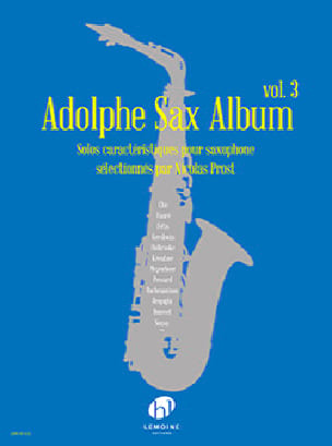 - Adolphe Sax Album - Volume 3 - Partition - di-arezzo.com