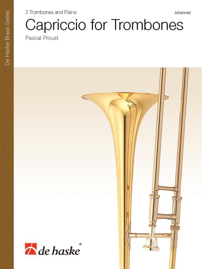 Pascal Proust - Capriccio for Trombones - Partition - di-arezzo.co.uk