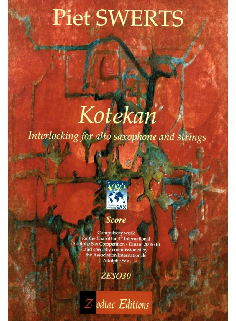 Piet Swerts - Kotekan - Partition - di-arezzo.co.uk