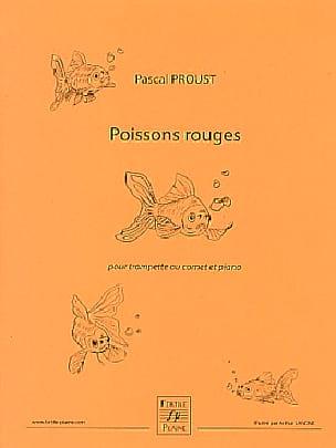 Poissons rouges - Pascal Proust - Partition - laflutedepan.com