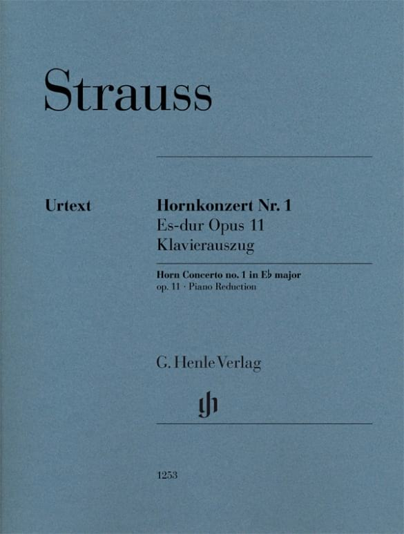 Richard Strauss - Concierto para trompa n ° 1 en mi bemol mayor op. 11 - Partition - di-arezzo.es