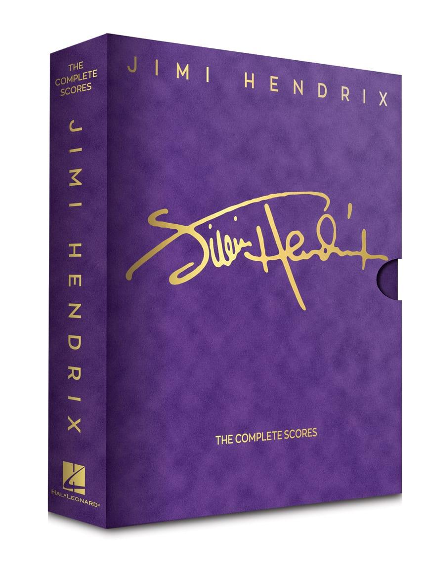 Jimi Hendrix - The Complete Scores - Box Edition - Partition - di-arezzo.co.uk