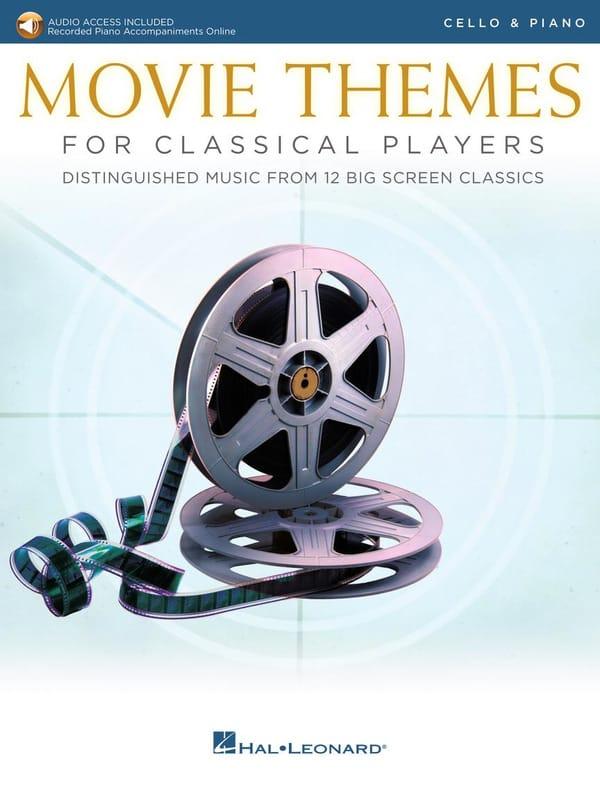 - Movie Themes for Classical Players - Cello - Piano - Partition - di-arezzo.com