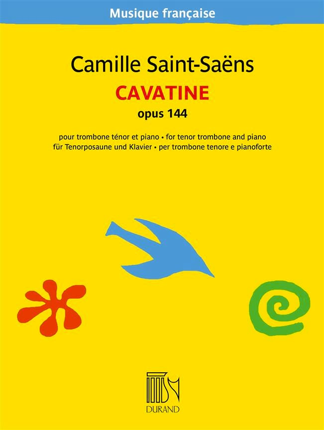 Camille Saint-Saëns - Cavatine, Opus 144 - Partition - di-arezzo.co.uk