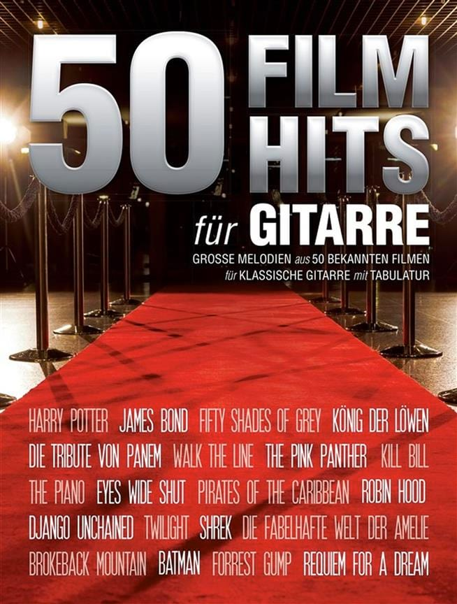 - 50 Film Hits pour Guitare - Partition - di-arezzo.fr