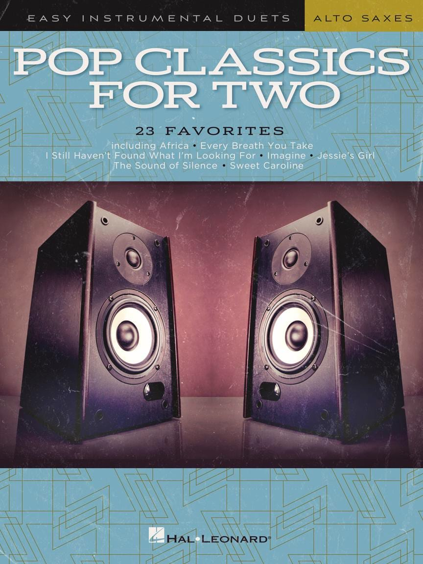 Pop Classics For Two - Saxo alto - Partition - laflutedepan.com