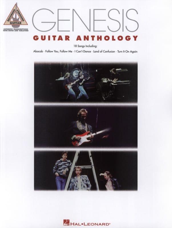 Genesis - Antología Génesis Guitarra - Partition - di-arezzo.es