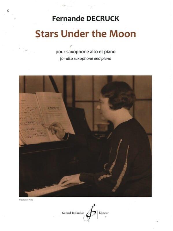 Fernande Decruck - Stars under the moon - Partition - di-arezzo.fr