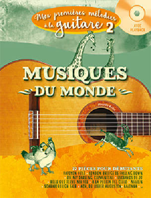 - My first melodies on guitar Volume 2 - World music - Partition - di-arezzo.com