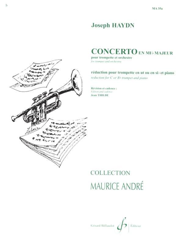 HAYDN - Concerto In Eb - Partition - di-arezzo.es
