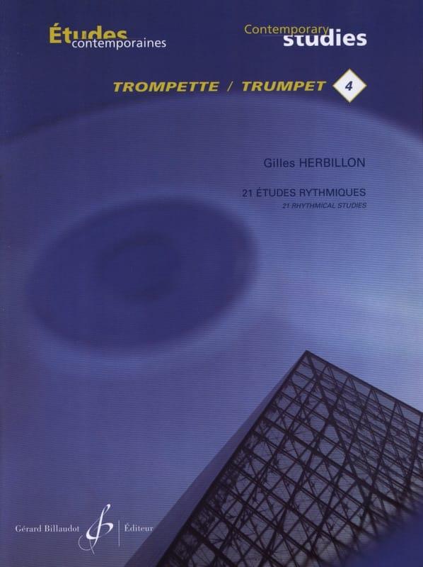 Gilles Herbillon - 21 Rhythmic studies - Partition - di-arezzo.com