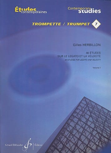 Gilles Herbillon - 7 - 40 Studies on legato and velocity volume 1 - Partition - di-arezzo.com