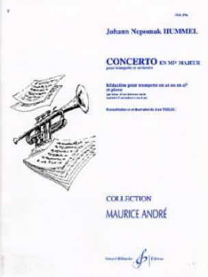 HUMMEL - Concierto en Eib Major - Partition - di-arezzo.es