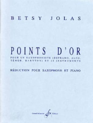 Betsy Jolas - Gold Points - Partition - di-arezzo.co.uk
