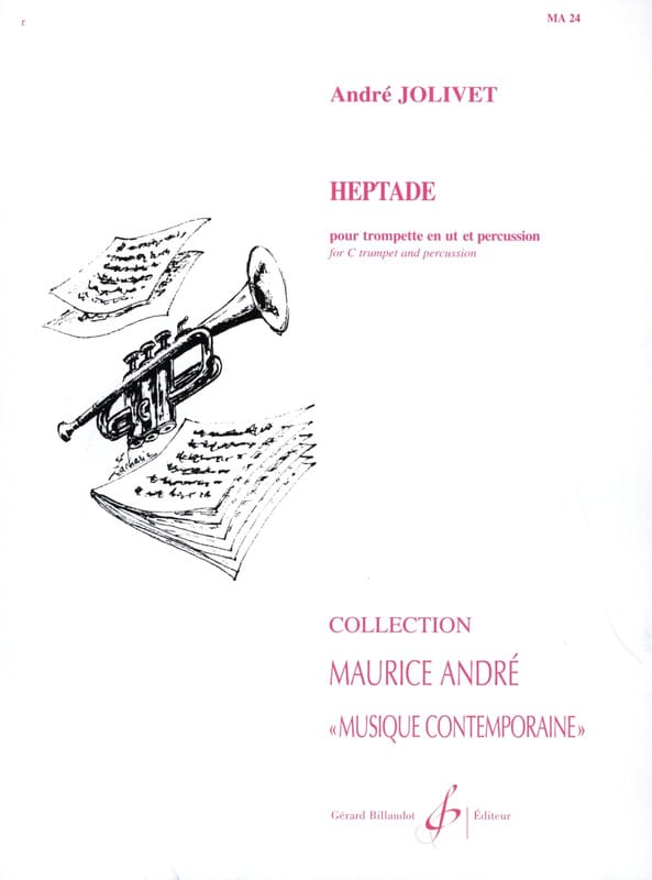 André Jolivet - Heptade - Score And Parts - Partition - di-arezzo.co.uk