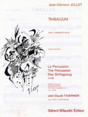 Timballum - Jean-Clément Jollet - Partition - laflutedepan.com
