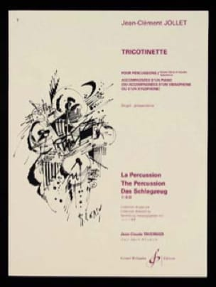Tricotinette - Jean-Clément Jollet - Partition - laflutedepan.com