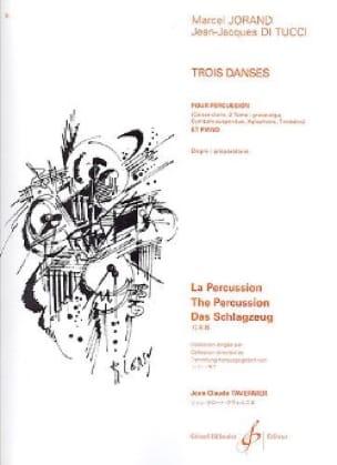 Jorand Marcel / Di Tucci Jean-Jacques - Three 3 dances - Partition - di-arezzo.com