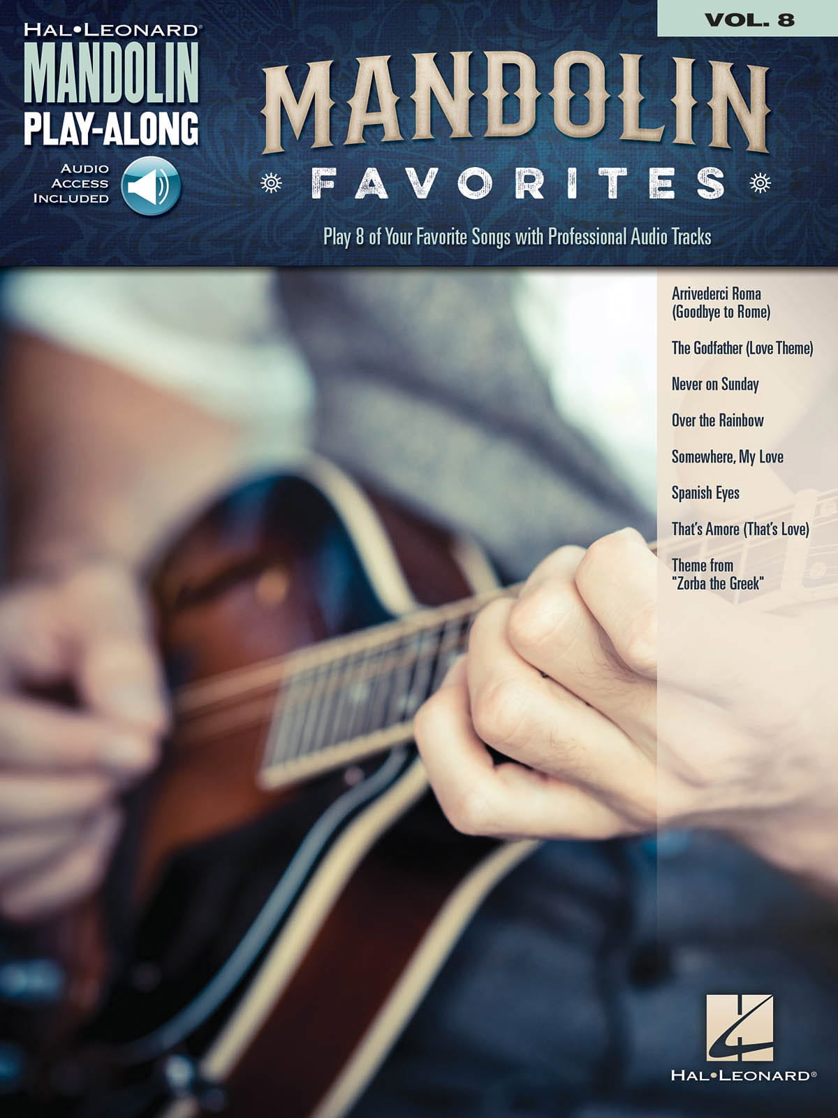 Mandolin Play-Along Volume 8 Mandolin Favorites - laflutedepan.com