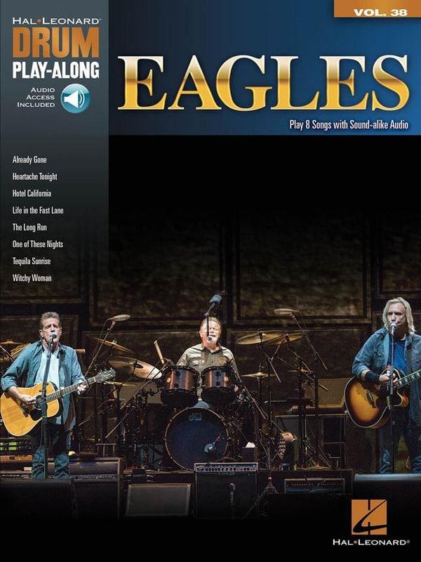 Drum Play-Along Volume 38 Eagles - Eagles - laflutedepan.com