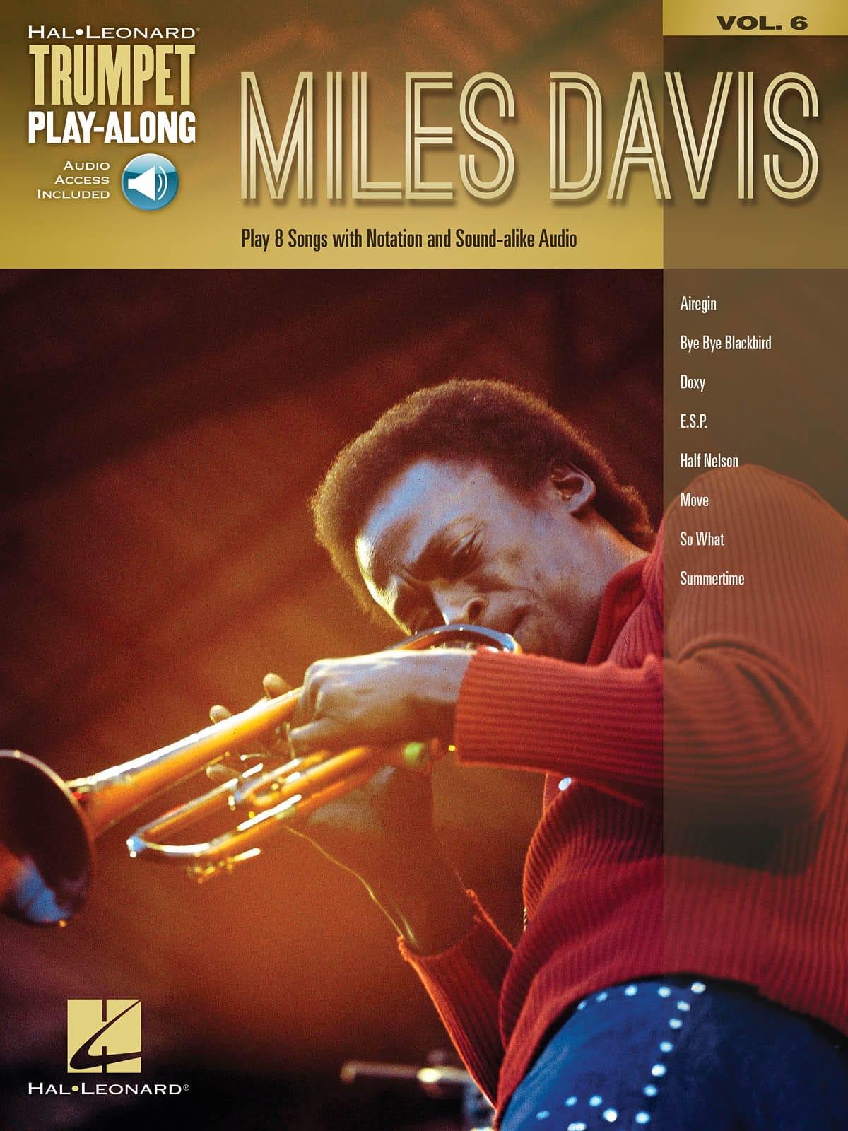 Miles Davis - Trumpet Play-Along Volume 6 Miles Davis - Partition - di-arezzo.co.uk