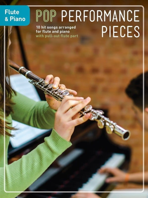 Pop Performance Pieces - Flute And Piano - laflutedepan.com
