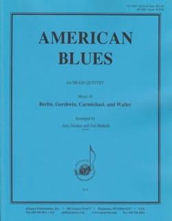 American Blues pour Quintette de Cuivres Score - laflutedepan.com