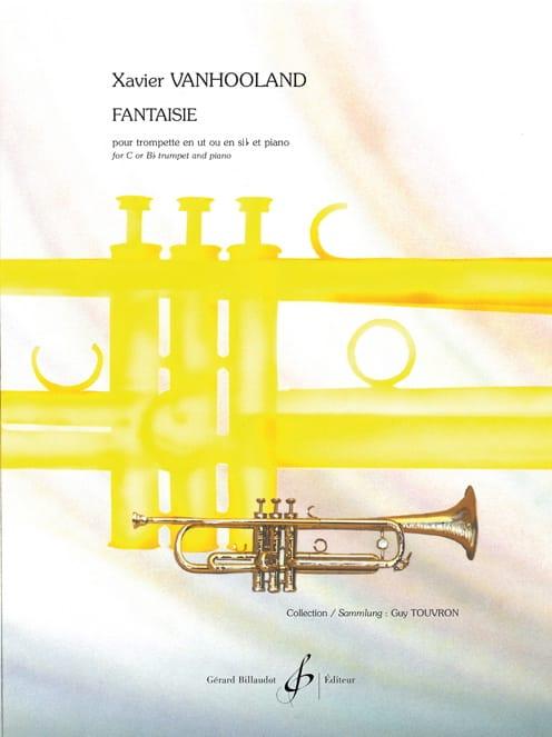 Fantaisie - Xavier Vanhooland - Partition - laflutedepan.com