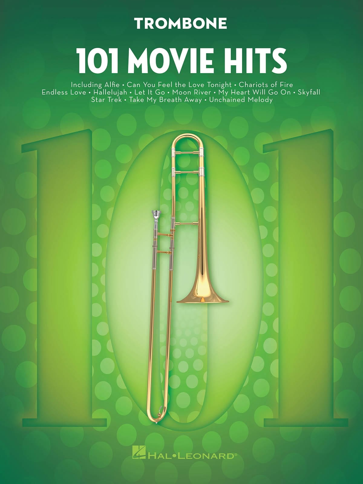 101 Movie Hits For Trombone - Partition - laflutedepan.com