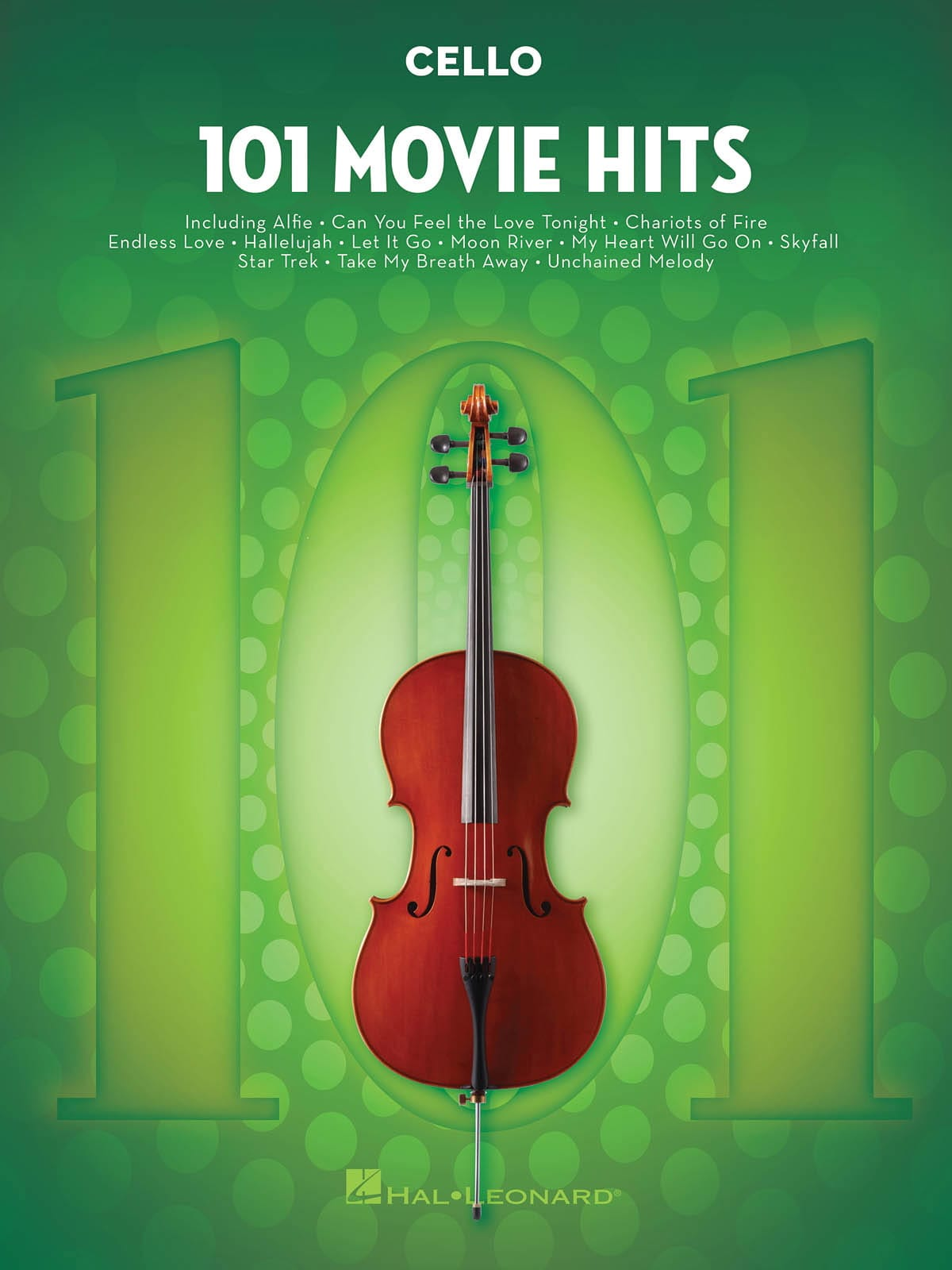 101 Movie Hits For Cello - Partition - laflutedepan.com