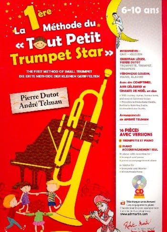 La 1ère Méthode du Tout Petit Trumpet Star - laflutedepan.com