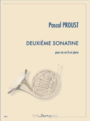 Deuxième Sonatine - Pascal Proust - Partition - Cor - laflutedepan.com