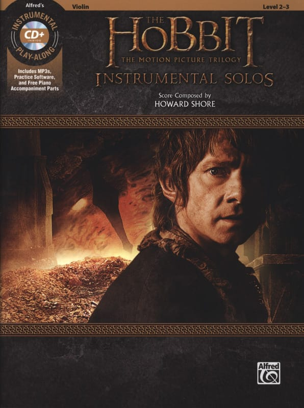 Howard Shore - The Hobbit - The Motion Picture Trilogy Instrumental Solos for Strings - Partition - di-arezzo.com