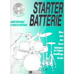 Starter batterie 1 - Patrick Billaudy - Partition - laflutedepan.com