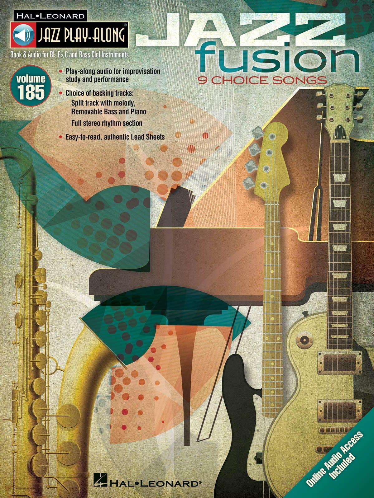 Jazz Play-Along Volume 185 - Jazz Fusion - laflutedepan.com