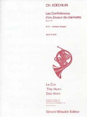 Charles Koechlin - Calling Fanfare Opus 141 No. 11 - Partition - di-arezzo.co.uk