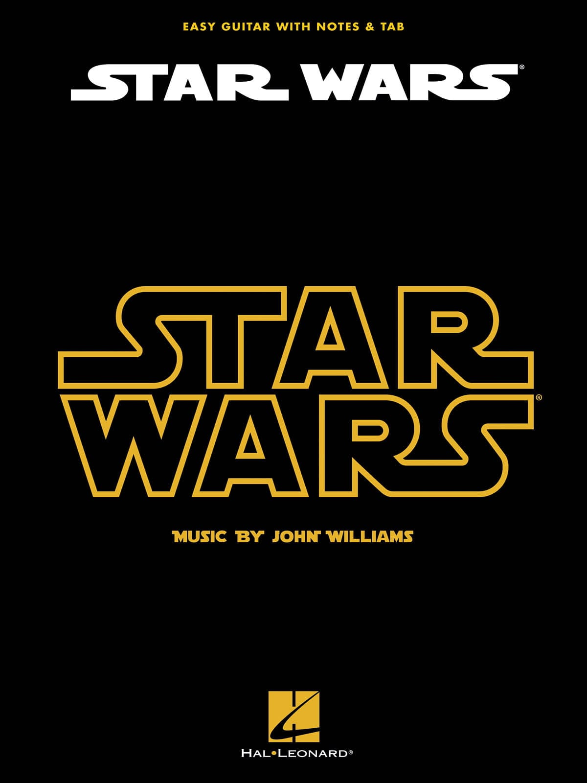 John Williams - Star Wars - Easy Guitar - Partition - di-arezzo.com
