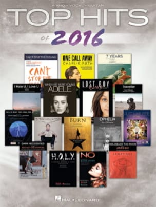 Top Hits of 2016 - Partition - Pop / Rock - laflutedepan.com