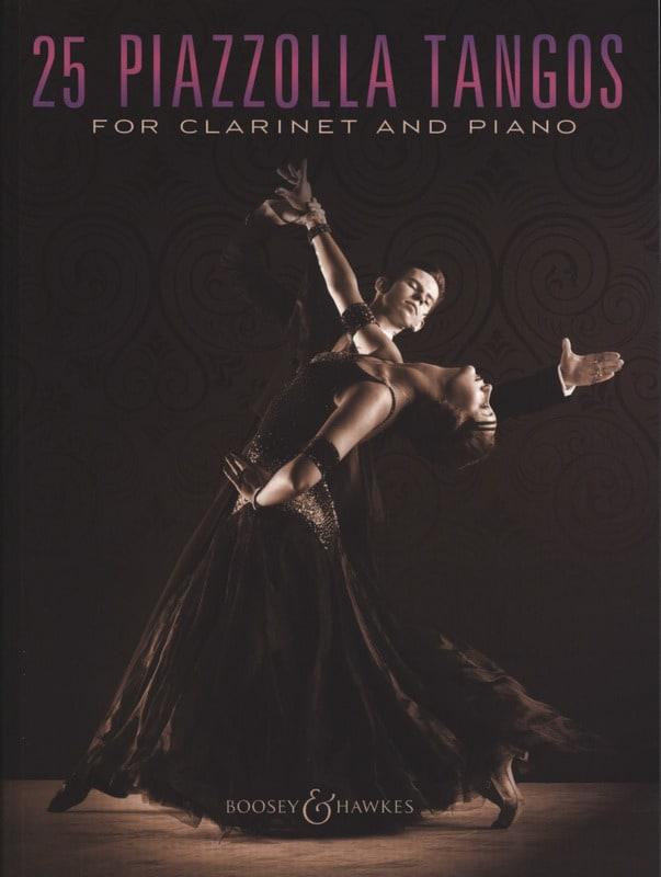 25 Piazzolla Tangos for Clarinet and Piano - laflutedepan.com