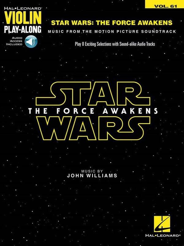 John Williams - Violino Play-Along Volume 61 - The Star Wars: The Force Awakens - Partition - di-arezzo.it