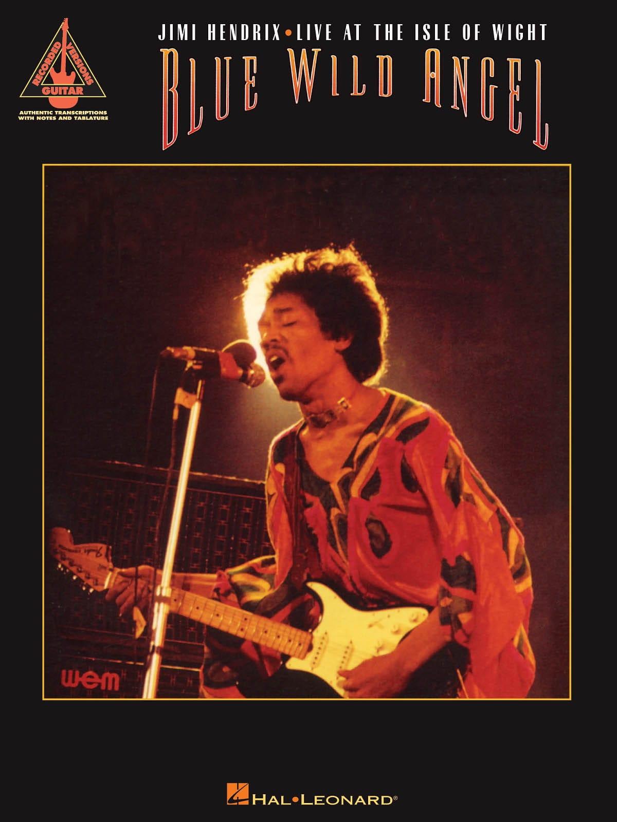Jimi Hendrix - Blue Wild Angel - Jimi Hendrix Live At The Isle of Wight - Partition - di-arezzo.co.uk