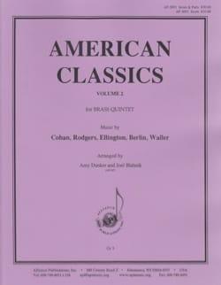 American Classics, Volume 2 Score - Brass Quintet - laflutedepan.com