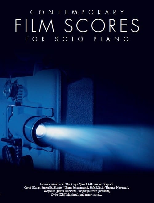 Contemporary Film Scores For Solo Piano - laflutedepan.com