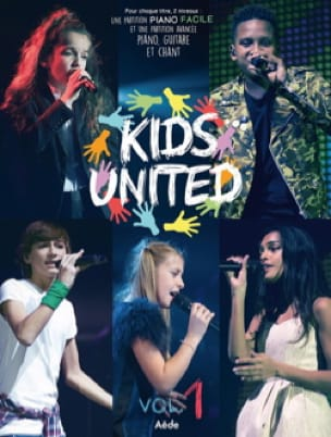 Kids United - Kids United - Volume 1 - Partition - di-arezzo.co.uk