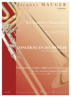 Benedetto Marcello - Concerto in C minor - Partition - di-arezzo.com