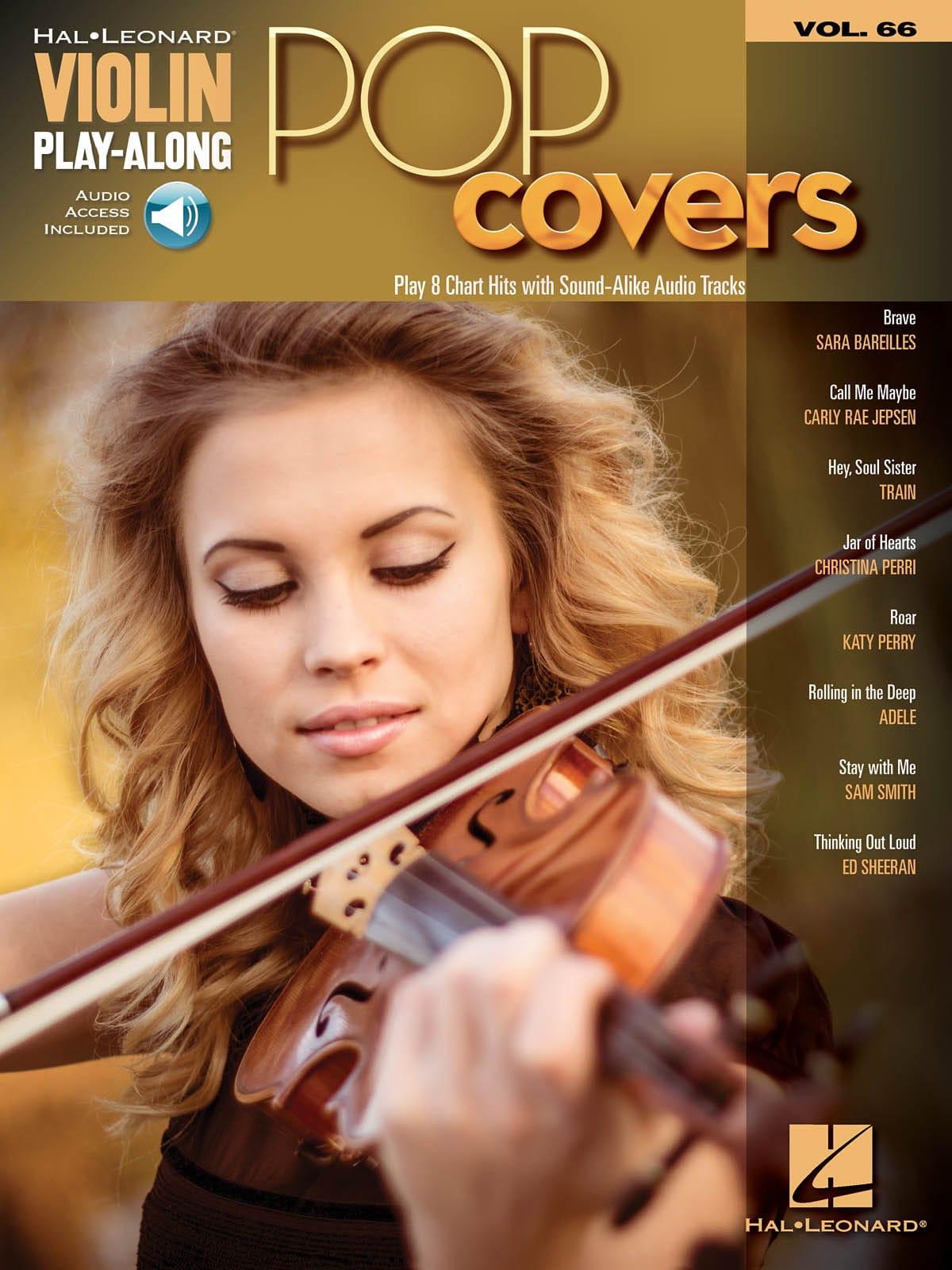 Violin Play-Along Volume 66 - Pop Covers - laflutedepan.com