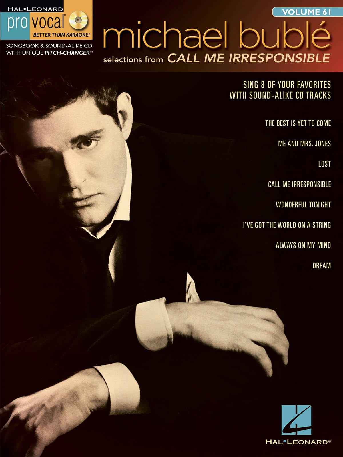 Michael Bublé - Pro Vocal Men's Edition Volume 61 - Michael Bublé - Call Me Irresponsible - Partition - di-arezzo.co.uk